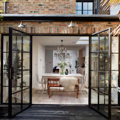 Greenwich Design and Extension:  Dining room by Urbanist Architecture, Modern Glass