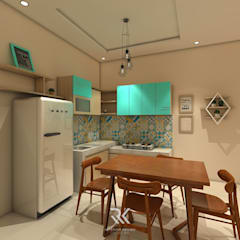 Small-kitchens توسطRK Interior Design, اسکاندیناویایی