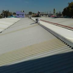 سقف جمالون تنفيذ Techos y Mantenimientos | Mevasa Comercializadora
