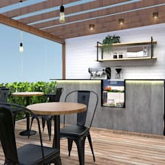 Balkon by Patricia Picelli Arquitetura e Interiores