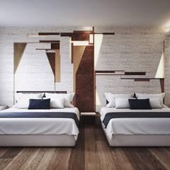 克勒維斯精品酒店:  飯店 by 司創仁和匯鉅設計有限公司, 現代風