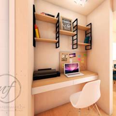 PROYECTO EXCELLENCE : Oficinas de estilo  por NF Diseño de Interiores