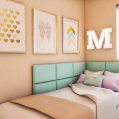 PROYECTO EXCELLENCE : Cuartos pequeños  de estilo  por NF Diseño de Interiores , Moderno
