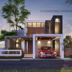 منازل تنفيذ CreoHomes Pvt Ltd, أسيوي