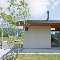 منزل خشبي تنفيذ 株式会社 空間建築-傳