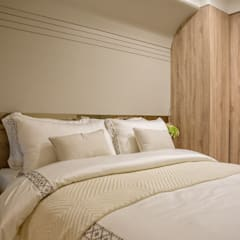 غرف نوم صغيرة تنفيذ 富亞室內裝修設計工程有限公司