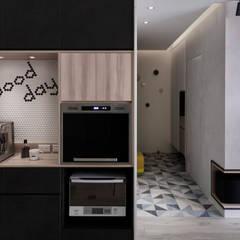 Koridor dan lorong oleh 耀昀創意設計有限公司/Alfonso Ideas