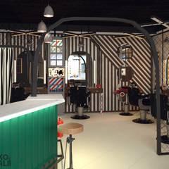 BarberClub Gentlemen: Коммерческие помещения в . Автор – EkaterinaBazalii, Лофт