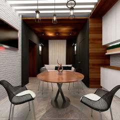 ساونا تنفيذ Студия Aрхитектуры и Дизайна 'Aleksey Marinin'