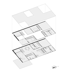 'Living together apart'  Villa ontwerp Kaag:  Eengezinswoning door Dinges Design
