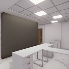 Liotta - Fábrica de Zapatos: Estudios y oficinas de estilo  por Luis Barberis Arquitectos