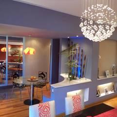 Casa PSM: Comedores de estilo  por Luis Barberis Arquitectos