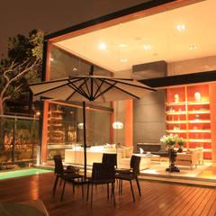 Proyecto Residencial: Terrazas de estilo  por TRAZZO ILUMINACIÓN