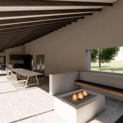 Rumah pedesaan by Luis Barberis Arquitectos