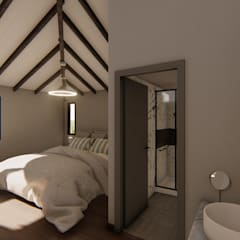 Casa SMC: Dormitorios de estilo  por Luis Barberis Arquitectos