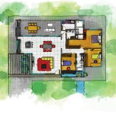 Detached home by Luis Barberis Arquitectos