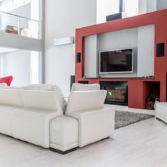 Casa RC: Livings de estilo  por Luis Barberis Arquitectos