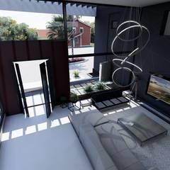 Casa FACT: Livings de estilo  por Luis Barberis Arquitectos