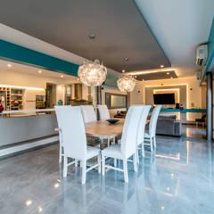 Casa RB: Comedores de estilo  por Luis Barberis Arquitectos