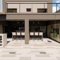 Casa GLVU: Casas de estilo  por Luis Barberis Arquitectos