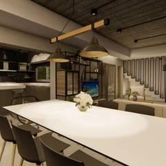 Phòng ăn by Luis Barberis Arquitectos