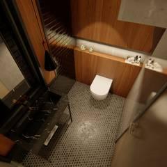 Casa GLVU: Baños de estilo  por Luis Barberis Arquitectos,Industrial