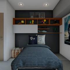 Dormitorios infantiles de estilo  por Luis Barberis Arquitectos, Industrial