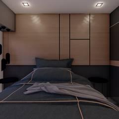 Casa GLVU: Dormitorios de estilo  por Luis Barberis Arquitectos