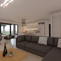 Casa MPSA: Livings de estilo  por Luis Barberis Arquitectos