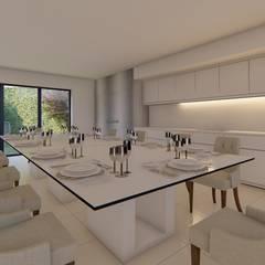 Casa MPSA: Comedores de estilo  por Luis Barberis Arquitectos