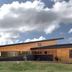 Patio: Casas de estilo  por Intermedio Arquitectos