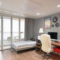 컬러풀 뉴트로하우스: 디자인 아버의  방