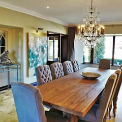 Walkersons Traditional Manor House:  Dining room by JSD Interiors, Country