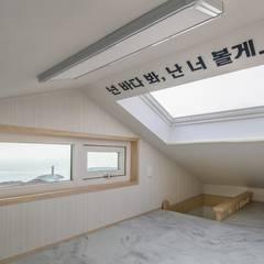 إضاءات طبيعية من سقف  تنفيذ inark [인아크 건축 설계 디자인]