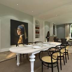 Herenhuis, monumentaal pand:  Eetkamer door Concepts & Images
