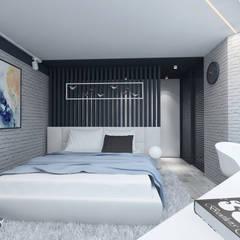 Подростковая : Маленькие спальни в . Автор – Студия Aрхитектуры и Дизайна 'Aleksey Marinin'
