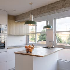 15oo2: Cocinas integrales de estilo  de puntodefuga estudio y arquitectura