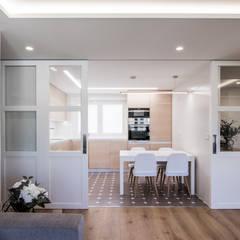 15o1o: Cocinas integrales de estilo  de puntodefuga estudio y arquitectura