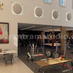 360 Degree Interactive Panoramic Virtual Reality Companies Developed by Architectural Visualisation Studio, Los Angeles - USA:  Gym by Yantram Architectural Design Studio