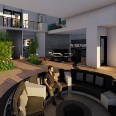Casa GT: Livings de estilo  por Luis Barberis Arquitectos