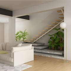 Stairs by 3bcuboarchitetti, Modern