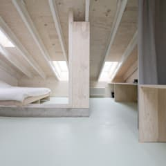 Gable roof by AMUNT Architekten in Stuttgart und Aachen,