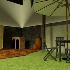 حديقة صخرية تنفيذ Creer y Crear. Arquitectura/Diseño/Construcción
