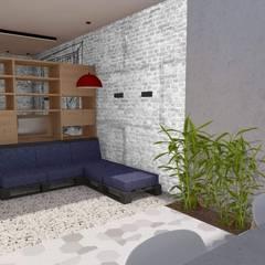 LOVIN' LOFT: Salas de estilo  por BICHO arquitectura,