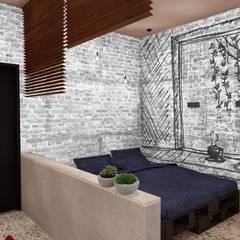 LOVIN' LOFT: Habitaciones de estilo  por BICHO arquitectura