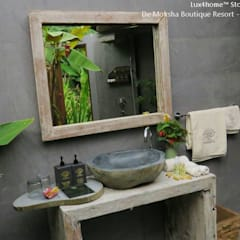 Stone Bathtube:  Bathroom by Lux4home™ Indonesia