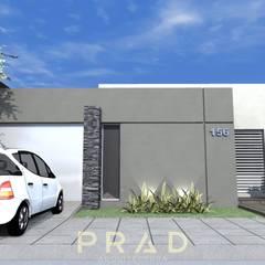 Casas pequeñas de estilo  por PRAD Arquitectura