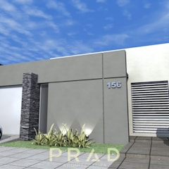 Vivienda A.K: Casas pequeñas de estilo  por PRAD Arquitectura,Minimalista