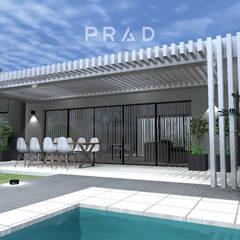 Vivienda de Fin de Semana L.P: Casas de campo de estilo  por PRAD Arquitectura