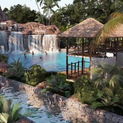 Pool by SZEN Architects Sdn Bhd,